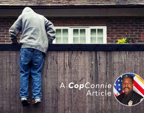 Cop Connie: What are Burglars Looking For?